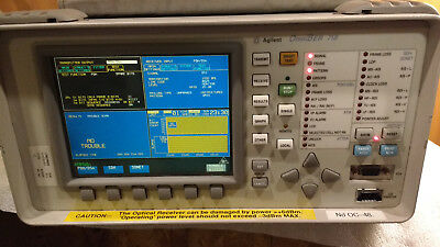 Hp Agilent 37718b Omniber Communications Analyzer Opt 002 012 106 200 601
