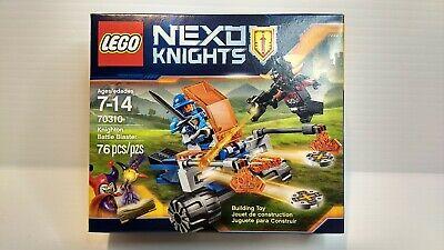 LEGO Nexo Knights 70310 - Knighton Battle Blaster - 76 Pcs - New Sealed Retired