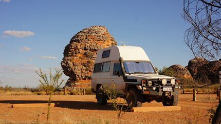 HZJ78 Toyota Landcruiser TROOPY - BUSHCAMPER South Perth South Perth Area Preview