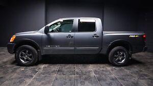 2014 Nissan Titan PRO-4X HANDS FREE! HEATED SEATS! NAV! TOW M...