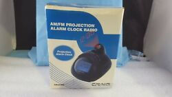 CRAIG Digital Blue Projection Alarm Clock With AM/FM Radio & Calendar- CR45365