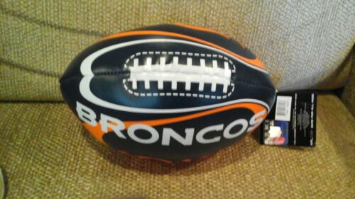 "Denver Broncos ""Goal Line"" 8"" Softee Football by Fotoball"