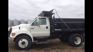 2005 Ford F-650 Dump Truck - Low Miles