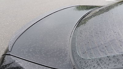 gloss SCHWARZ lackiert slim spoiler für Mercedes W 140 S Klasse karosserie teile