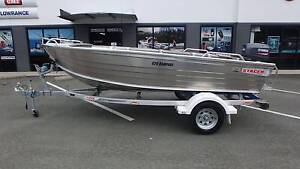 NEW! STACER 429 RAMPAGE + YAMAHA 30HP CV 2-STROKE Boondall Brisbane North East Preview