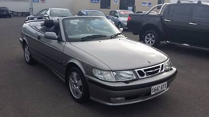 2002 Saab 9-3 Automatic Convertible Clovelly Park Marion Area Preview