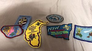 Jamboree scout patches Raceview Ipswich City Preview