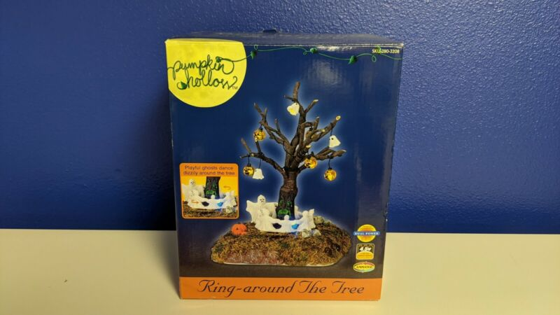 Lemax Spooky Town 2004 Ring Around The Tree works in original box