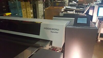 Heidelberg 40 Topsetter Pt- R 8000 Thermal Plate Washer