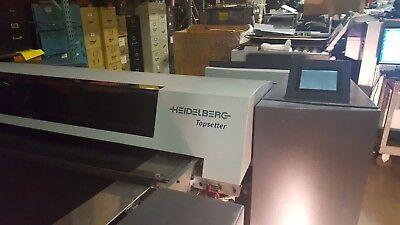 Heidelberg 40 Topsetter Pt- R 8000 Thermal Plate Washer