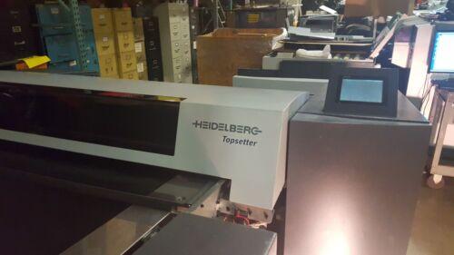 """HEIDELBERG 40"""" TOPSETTER PT- R 8000, THERMAL PLATE WASHER"""