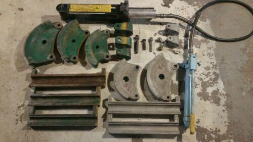 Greenlee 882 892 Flip Top Hydraulic Conduit Pipe Bender