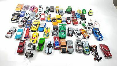 Lot of 58 Cars Different Brands And Models Hot Wheels