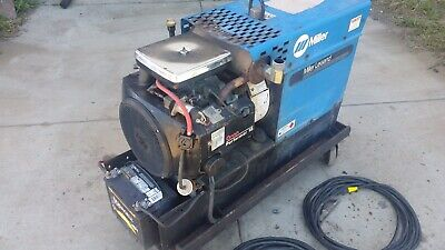 Miller Legend 225 Acdc Welder 5kw Generator With Rebuilt Onan.