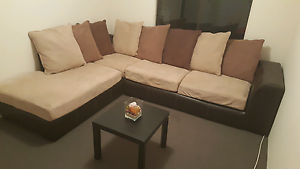Beautiful Harvey Norman ,brown colour couch /sofa RRP $2500 Craigie Joondalup Area Preview