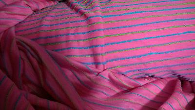 Tela de poliéster de viscosa rosa vendida por metros ancho 140 / 150cm segunda mano  Embacar hacia Argentina