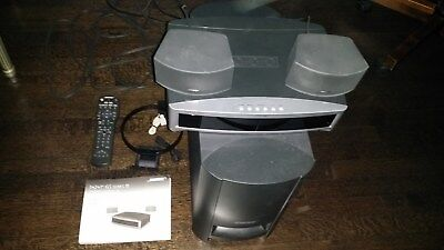 Bose 3-2-1 GS Series IIIDVD CD 2.1 Home Theater Powered System Sound AMFMRadio