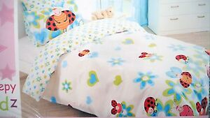 Lady beetle Brand New Single Bed quilt cover and pillowcase set Everton Park Brisbane North West Preview