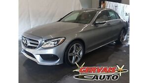 Mercedes-Benz C-Class C300 4Matic Cuir Rouge MAGS AW 2015