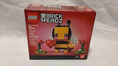 NEW LEGO® BrickHeadz Valentine's Day Bee (40270)