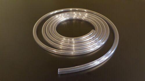 "Any Size Crystal Clear Smooth PVC Flexible Vinyl Tubing/Hose 1/16"" thru 2"" Inch"