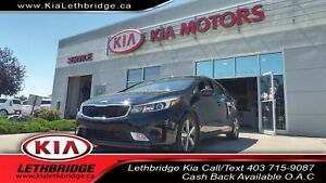 2018 Kia Forte CLEAN CARPROOF, LOW KMS, BACKUP CAMERA, LEATHER