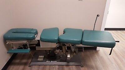 Back Specialist Cox Flexion Chiropractic Cervical Lumbar Drop Adjusting Table
