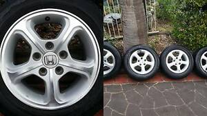 HONDA CIVIC – Genuine (Limited Edition) alloy wheels Tuggerah Wyong Area Preview