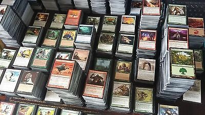 500 MAGIC THE GATHERING CARDS BULK LOT / COLLECTION INCLUDES 50 MANA/ LAND