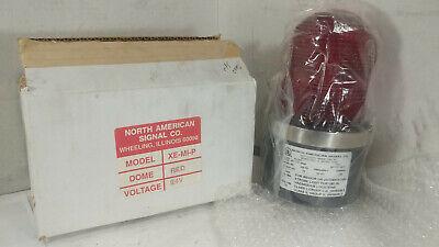 1 New North American Signal Xe-mi-p Strobe Light 24v Red Nib Make Offer