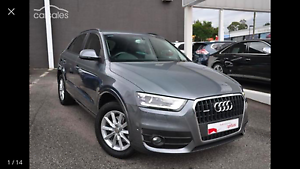2013 Audi Q3. 2.0L Turbo (low KMs): Price reduced for quick Sales Essendon Moonee Valley Preview