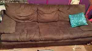 Pre-loved Large Brown Couch/Sofa/Lounge Jacana Hume Area Preview