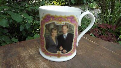 1999 Engagement of Prince Edward & Sophie Rhys-Jones Aynsley Mug