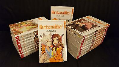 KAMISAMA KISS :  Deutsche Mangas Nr. 1-22 komplett & Top !