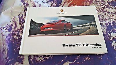 Porsche 911 GTS (991.2) 01/2017 117 pg Hardback Brochure