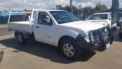 2009 Nissan Navara Single Cab Steel Tray Ute 4X4 TURBO DIESEL Williamstown North Hobsons Bay Area Preview