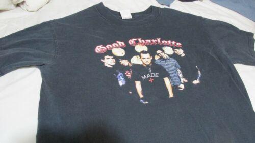Good Charlotte The Young & Hopeless Tour Concert T-Shirt Men