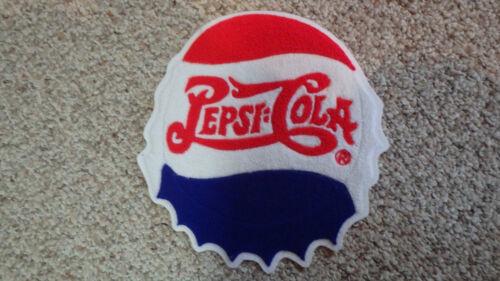 PEPSI COLA  SODA CHENILLE  SODA POP  BACK PATCH  OLD NEW STOCK  BX W