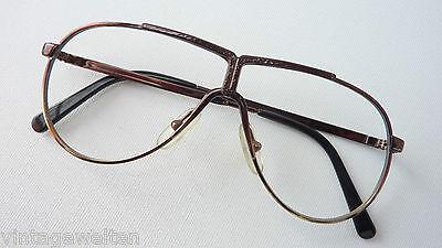 Brille Oldschoolfassung Kids Jungenbrille cool Fliegerbrille Pilot Metall Gr. L