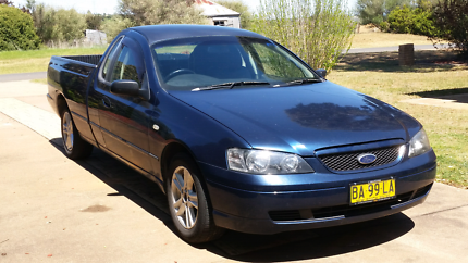 2003 Ford Falcon BA Ute 4.0L Auto Yass Yass Valley Preview
