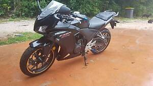 Honda CBR500r Motorcycle Malanda Tablelands Preview
