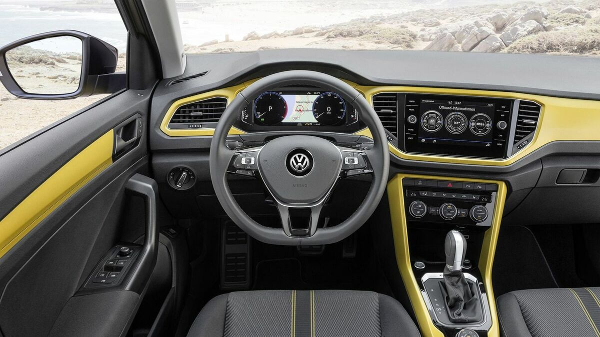 VW T-Roc Cockpit