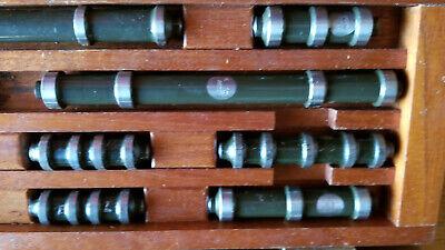 Lufkin Inside Micrometers Vintage Borerod Gauge 1 - 10