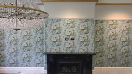 Wallpaper Installer / Wallcovering Hanger - TLC Service - Sydney