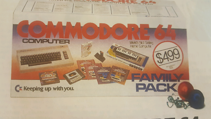 Wanted: WANTED COMPLETE COMMODORE 64 FAMILY PACK