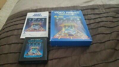 Video Pinball for Atari 2600 CIB