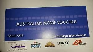 Australian Movie Voucher Quantity 3 Homebush Strathfield Area Preview
