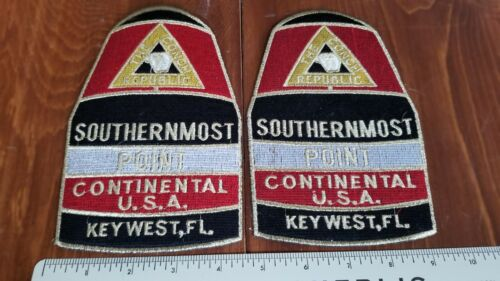 Historic 1995 Invasion Key West Florida Conch Republic Official Police Patches