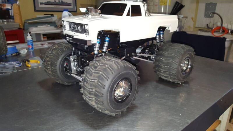 "Stock Clod or Super Clodbuster Aluminum 4-Link Suspension - 12"" Wheelbase"