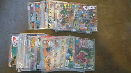 1990's X-Force/X-Man/Wolverine/Cable/X-Men Unlimited Comics
